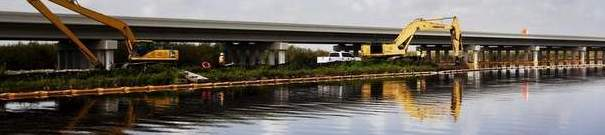 Tamiami Trail bridge